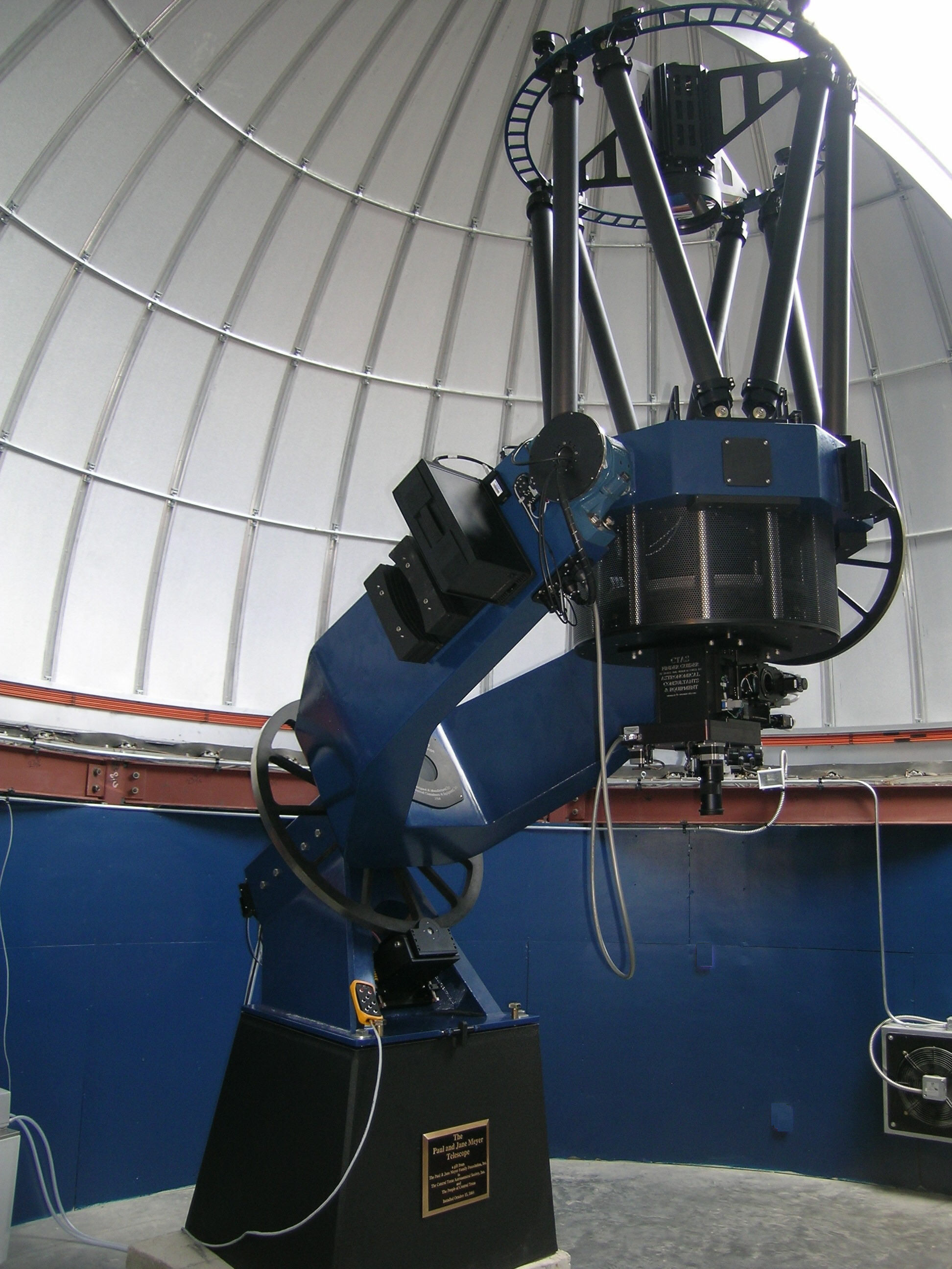 ACE 0.6m Telescope, Central Texas A.S.
